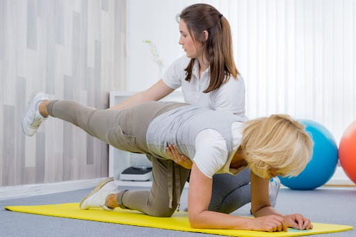 Physical Therapy with Louisville Personal Injury Doctor